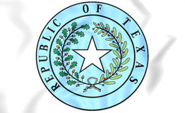Republic of Texas Seal. Royalty Free Stock Image
