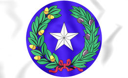 Republic of Texas Seal. Royalty Free Stock Images