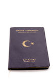 Republic Of Turkey Passport Stock Image