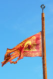 Republic of Venice flag, Venice, Italy Stock Image