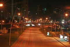 Republica Panamá da rua da noite Imagens de Stock Royalty Free