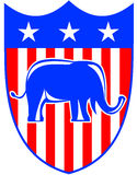 Republican crest Royalty Free Stock Image