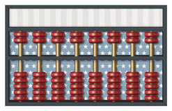 Republican Election Abacus Royalty Free Stock Photos