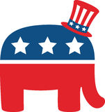 Republican Elephant Stock Photos