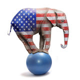 Republican elephant. Royalty Free Stock Photos