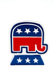 Republican Elephant Royalty Free Stock Photos