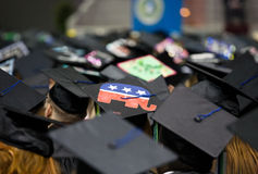 Republican Graduating from College Royalty Free Stock Photos