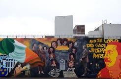 Republican mural, Belfast, Northern Ireland Royalty Free Stock Photos