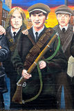 Republican mural, Belfast, Northern Ireland Royalty Free Stock Photography