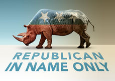 Republican In Name Only Stock Images