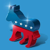 Republican Party 3D Sighn Royalty Free Stock Photos