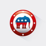 Republican political party animal Royalty Free Stock Photography