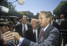 Republican presidential candidate Bob Dole Stock Photos