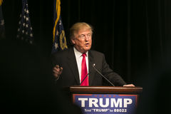 Republican Presidential Candidate Donald J Trump Stock Photos