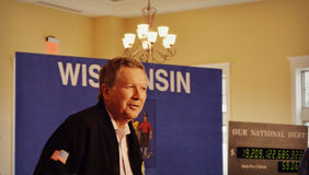 Republican Presidential Candidate John Kasich Royalty Free Stock Photography