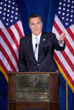 Republican presidential candidate Mitt Romney Stock Photo