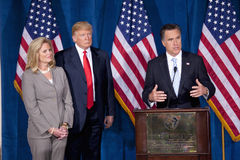 Republican presidential candidate Mitt Romney Royalty Free Stock Photography