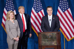 Republican presidential candidate Mitt Romney Royalty Free Stock Photo