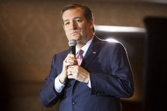 Republican Presidential Candidate Ted Cruz Madison, Wisconsin Ra Royalty Free Stock Images
