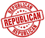 Republican stamp Royalty Free Stock Images