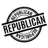 Republican rubber stamp Stock Image