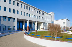 Republican Scientific and Practical Center of Radiation Medicine. GOMEL, BELARUS - APRIL 3, 2016: Republican Scientific and Practical Center of Radiation royalty free stock photography