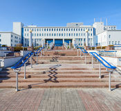 Republican Scientific and Practical Center of Radiation Medicine. And Human Ecology, Gomel, Belarus royalty free stock images