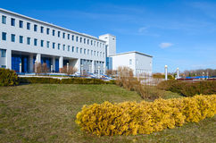 Republican Scientific and Practical Center of Radiation Medicine. And Human Ecology, Gomel, Belarus stock images
