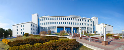 Republican Scientific and Practical Center of Radiation Medicine. And Human Ecology, Gomel, Belarus stock image