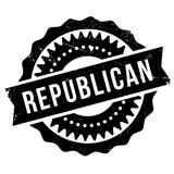 Republican stamp rubber grunge Royalty Free Stock Photo