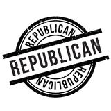 Republican stamp rubber grunge Stock Photography
