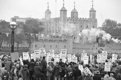 Republicanismemanifestatie Stock Fotografie