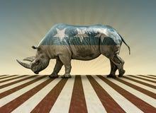 Republicano só em nome Fotografia de Stock