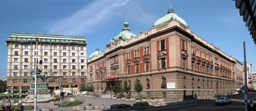 republics square Στοκ εικόνα με δικαίωμα ελεύθερης χρήσης