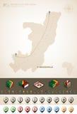 Republiek de Kongo Stock Foto's