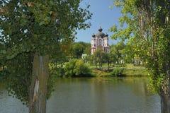 Republiek Moldavië, Curchi-Klooster royalty-vrije stock foto's