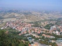 Republiek San Marino Stock Fotografie