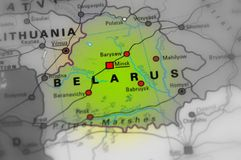 Republiek Wit-Rusland - Wit Rusland Stock Fotografie