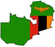 Republiek Zambia Royalty-vrije Stock Foto's
