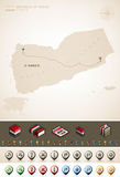 Republik av Yemen Royaltyfri Foto