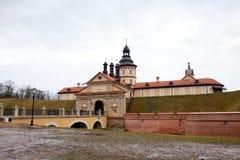 republik för belarus slottniasvizh Arkivfoto