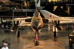Republik F-105 Thunderchief/nationell luft och utrymmemuseum Royaltyfria Foton