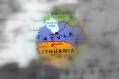 Republik Lettland stockbilder