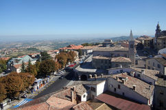 Republik San Marino lizenzfreies stockfoto