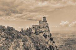 Republik San Marino Stockfotografie