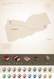 Republik vom Jemen Lizenzfreies Stockfoto