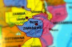 Republik Zimbabwe stockfotografie