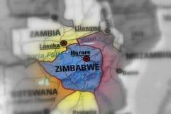 Republik Zimbabwe stockbilder