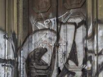 Republika Czech, Praga, Jecna ulica, Listopad 27, 2017: zamknięty u Obrazy Royalty Free