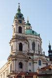 REPUBLIKA CZECH PRAGA, PAŹDZIERNIK, - 02, 2017: Pojawienie cudowny Europejski miasto Ostop wierza z spiers Obrazy Royalty Free